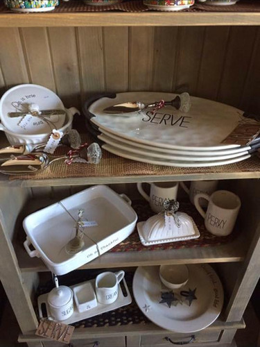 Platters, Baking Dishes, Cream & Sugar