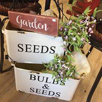 Garden Tin Bins