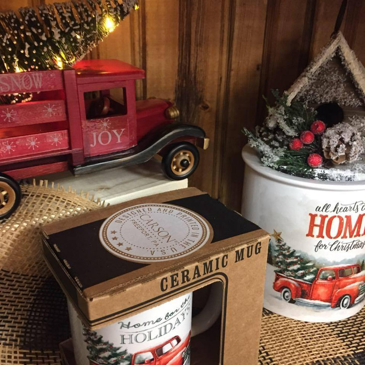 Christmas Truck Home for the Holidays