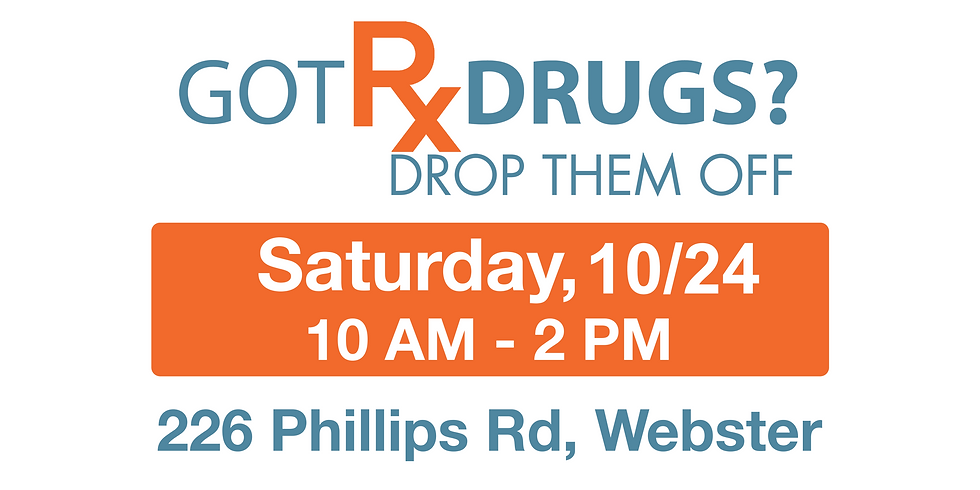 Fall Drug Drop-Off