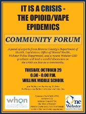 Poster for Community Forum