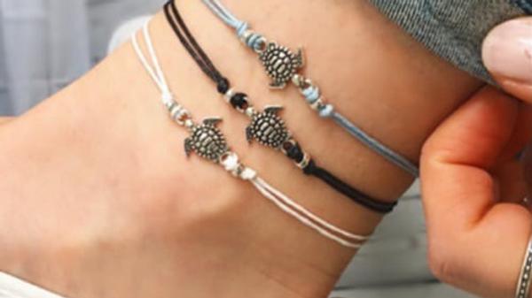 Bohemian Turtle Anklet Ankle Bracelet