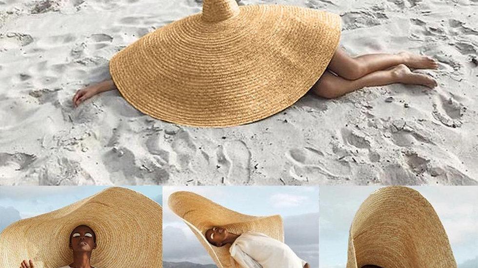 2019 Women Summer Hat Beach Straw Hat Fashion Large Sun Hat