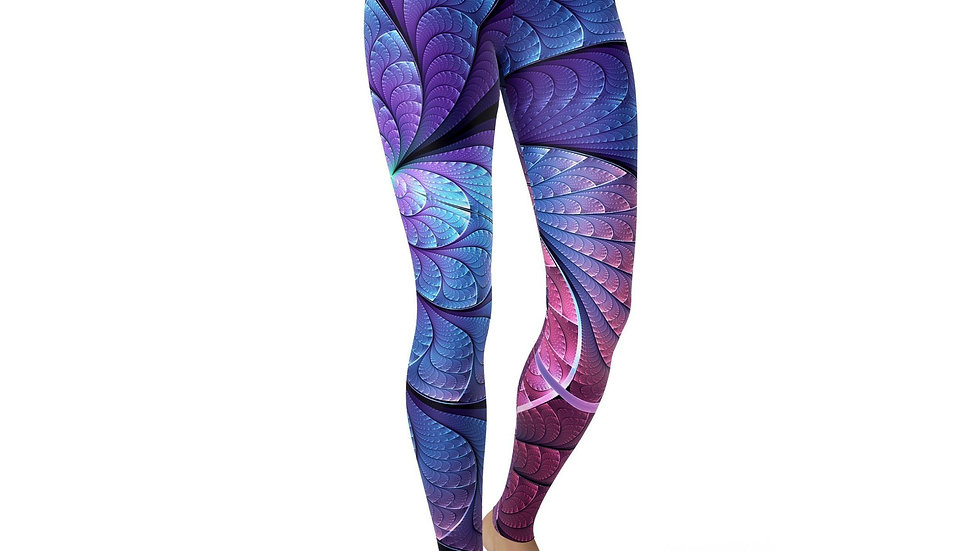 Jean Purple and Blue Scales