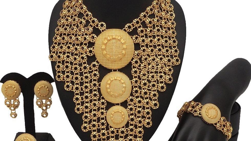Dubai Gold Color Fine Jewelry