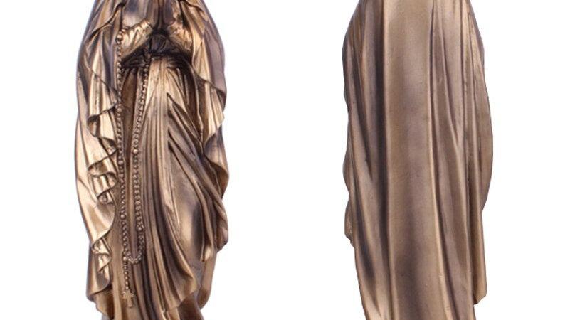 Resin Madonna Blessed Saint Virgin Mary