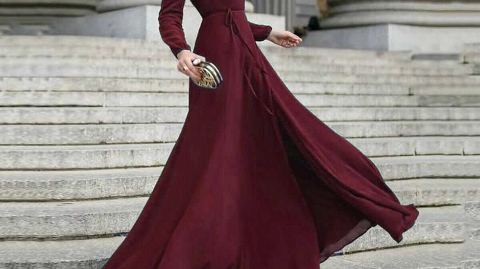 Elegant Dress Women Long Sleeve Bodycon