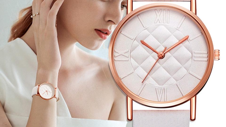 Quartz Wrist Watches Luxury Top Brand White Casual