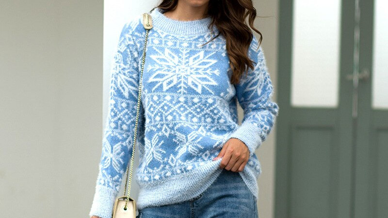 Thick Warm Winter Pullover Sweater