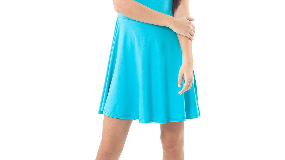 Bow Detail Skater Dress