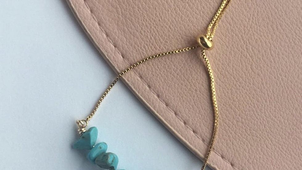 Belle - Turquoise Adjustable Bracelet