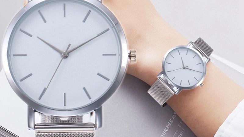 Gogoey Gold Sliver Mesh Women's Watch Luxury