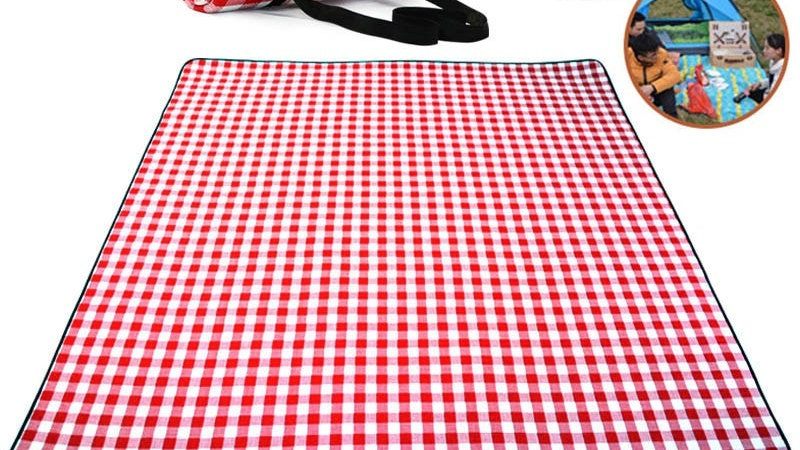 Thicken Pad Breathable Soft Blanket for Outdoor Folding Waterproof Blanket