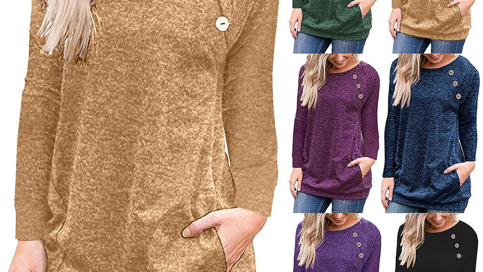 Long Sleeve O Neck Sweater