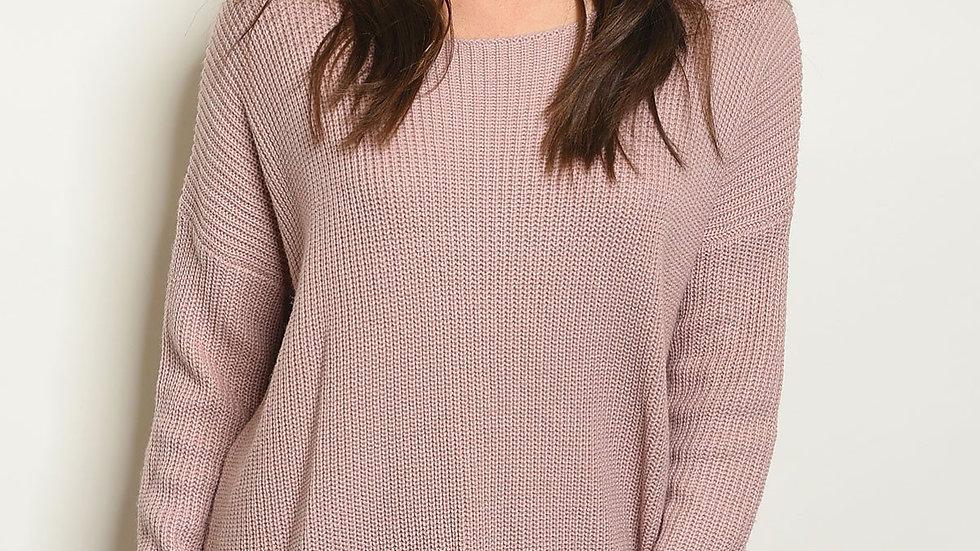 Mauve Sweater