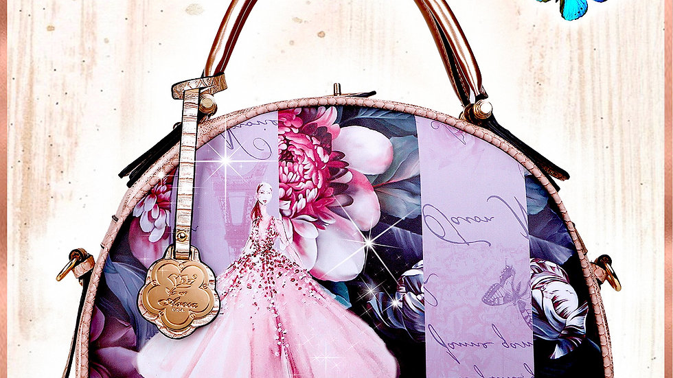 Blossomz Dome Designer Vegan Luxury Leather Bag for Women