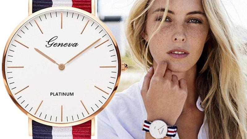 Luxury Brand Quartz Wrist Watch