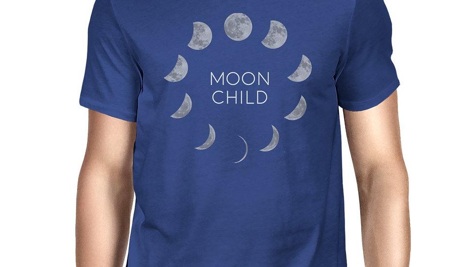 Moon Child Mens Royal Blue Shirt