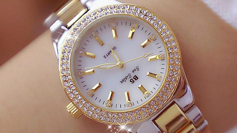 Crystal Watch Women Dress