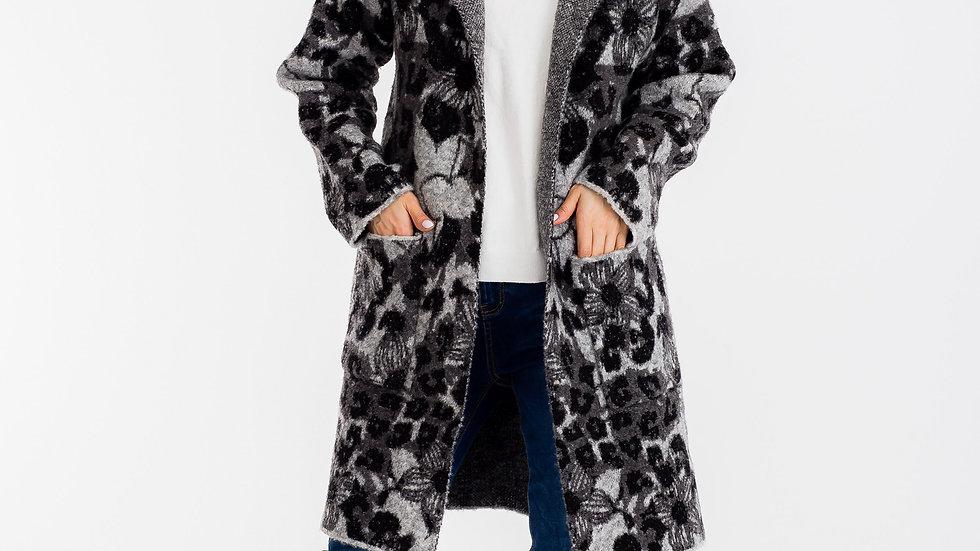 Harriet Long Coat Gray