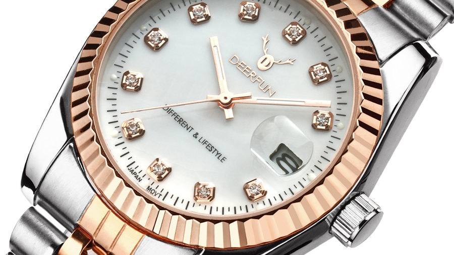 ROSE GOLD  Bracelet Watch for Men and Women