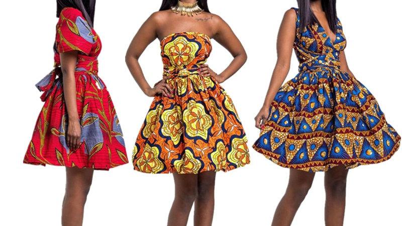 Batik African Dress