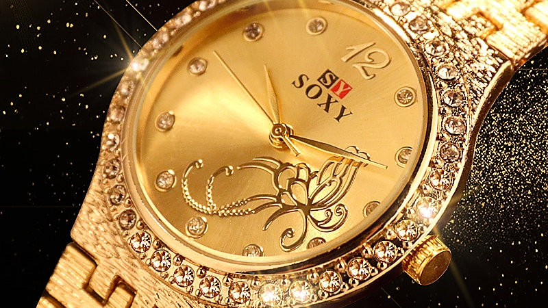 Flower Butterfly Exquisite Casual Ladies Watch