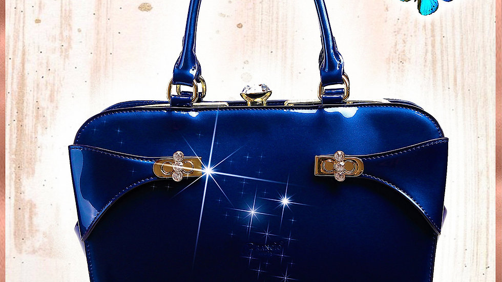 Tri-Star Minimalist Womens Fashion Purse