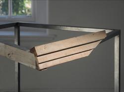 Left on the edge (detail)