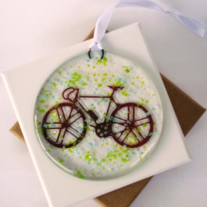 Bicycle window hanger