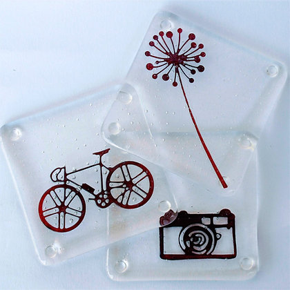 Hobbies drinks coaster
