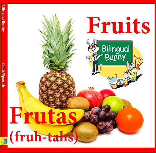 Bilingual Bunny Fruits