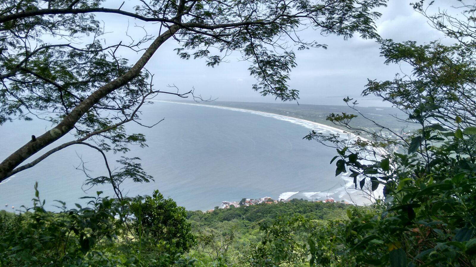 Vista da Barra de Guaratiba