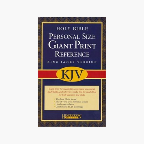 Personal Size Giant Print KJV