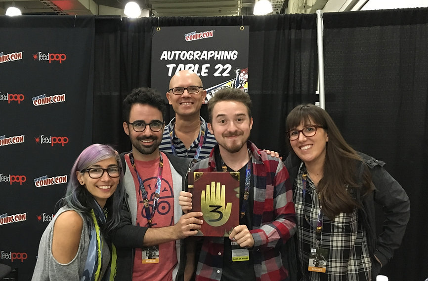 NYCC - October 2016 - Gravity Falls Journal 3 Panel & Signing