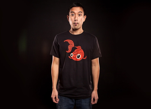 Goldfish -Threadless product shot