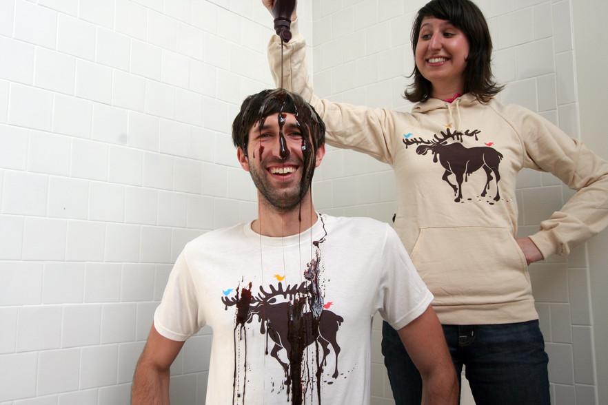 The Elusive Chocolate Moose - Threadless product shot