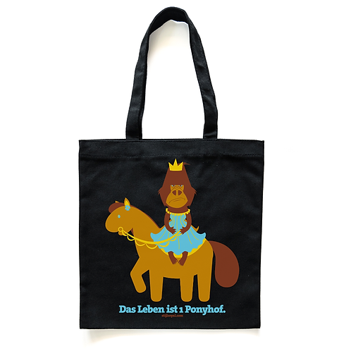 """""""Das Leben ist 1 Ponyhof""""-Tasche"""