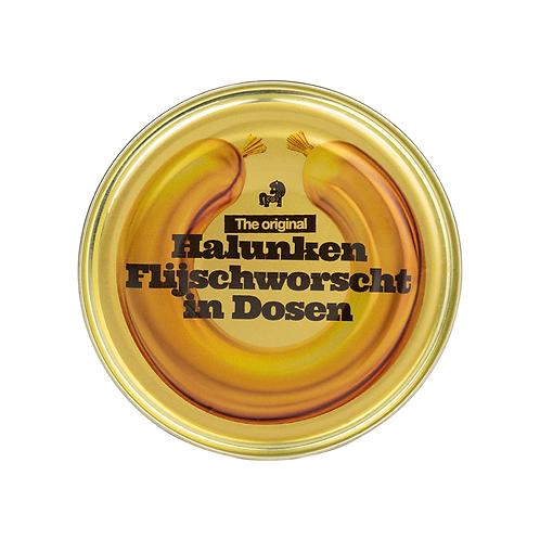 Halunken-Fleischworscht in Dosen