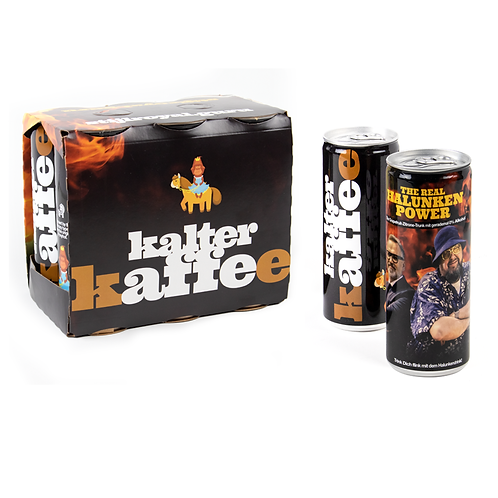 SIXPACK – The real Halunken Power + Kalter Kaffee