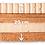Thumbnail: Queen size BIO 20 cm - 100% Orgánico