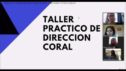 Taller Práctico de Dirección Coral