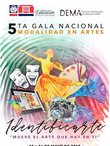 Gala Nacional Modalidad en Artes