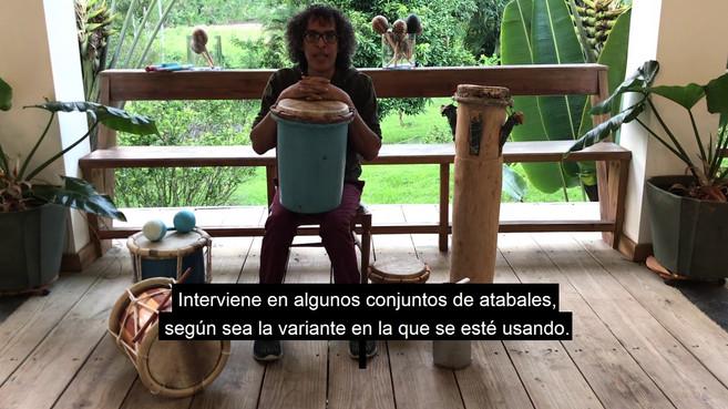 Percusiones en RD con Edis Sánchez