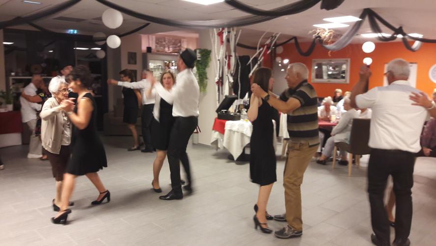 Soirée danses de salon