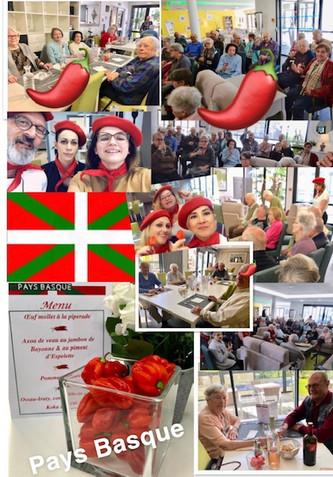 """""""ESCAPADE GOURMANDE"""" au Pays Basque à la résidence seniors LE CLOS SAINT JEAN de St Jean d"""