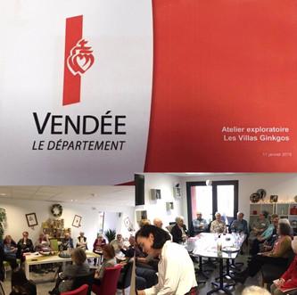 Vendée 2040 à la résidence seniors Les Alisiers