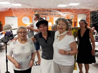 """Soirée """"moules frites"""" organisée par l'équipe de la Résidence Bonne Fontaine ce 18/07/"""