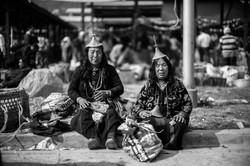 Laya vendors in market