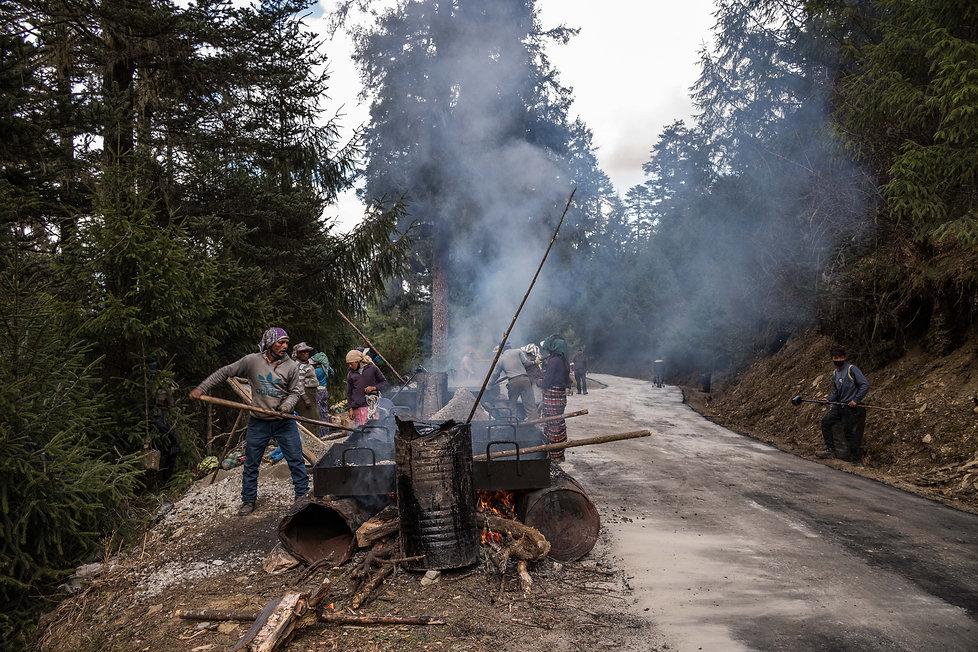 Indian Workers in Bhutan